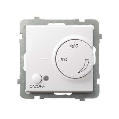 Regulator temperatury z czujnikiem napowietrznym SONATA BIAŁY