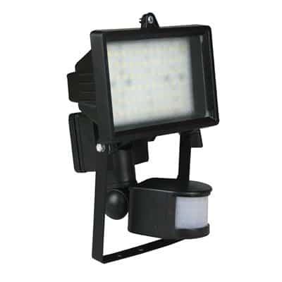Oprawa LED naświetlacz 5W z czujnikiem ruchu i zmierzchu halogen reflektor OH-72 czujnik LED 72 SMD