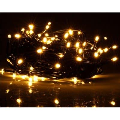 Lampki choinkowe wewnętrzne LED 100 szt migająca dioda LW-LED-FLASH-100G barwa ciepła