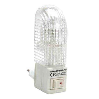 Lampka nocna mini do gniazdka LNS E14 5W