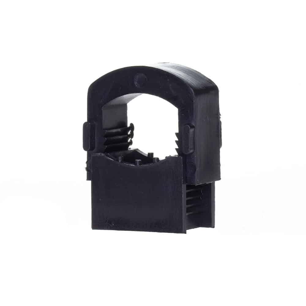 Uchwyt na kable 4-12 mm UM-16 czarny/biały zacisk na przewody