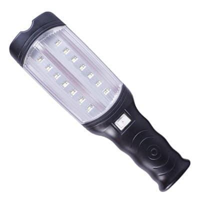 Oprawa przenośna 14 LED SMD  lampa warsztatowa latarka garażowa LED-02B akumulator
