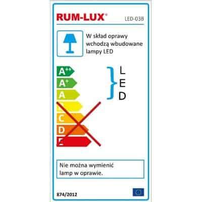 Oprawa przenośna 30+6 LED lampa warsztatowa latarka garażowa LED-03B akumulator