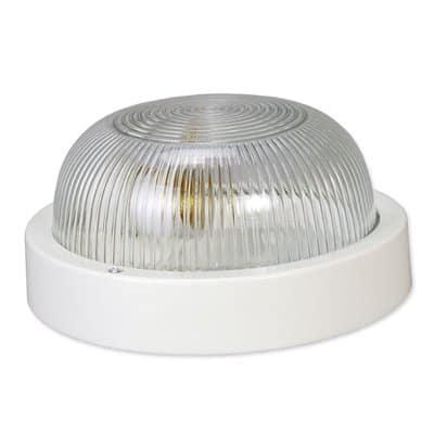 Oprawa kanałowa lampa garażowa okrągła bez siatki 60W 1042A