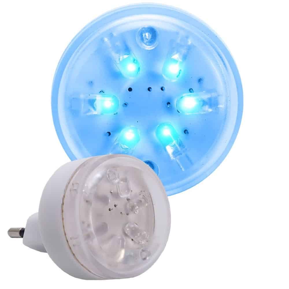 Lampka nocna LED iskierka L-LED-01 do gniazdka
