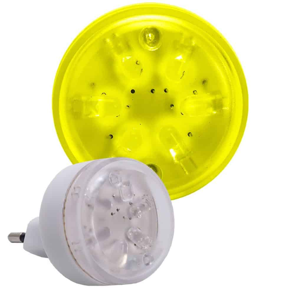 Lampka nocna LED iskierka L-LED-01 do gniazdka