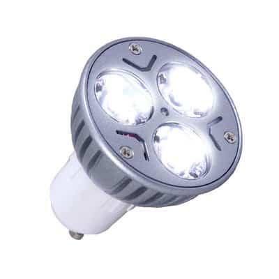 Żarówka halogenowa diodowa zimna LED-HAL 3x1W GU10