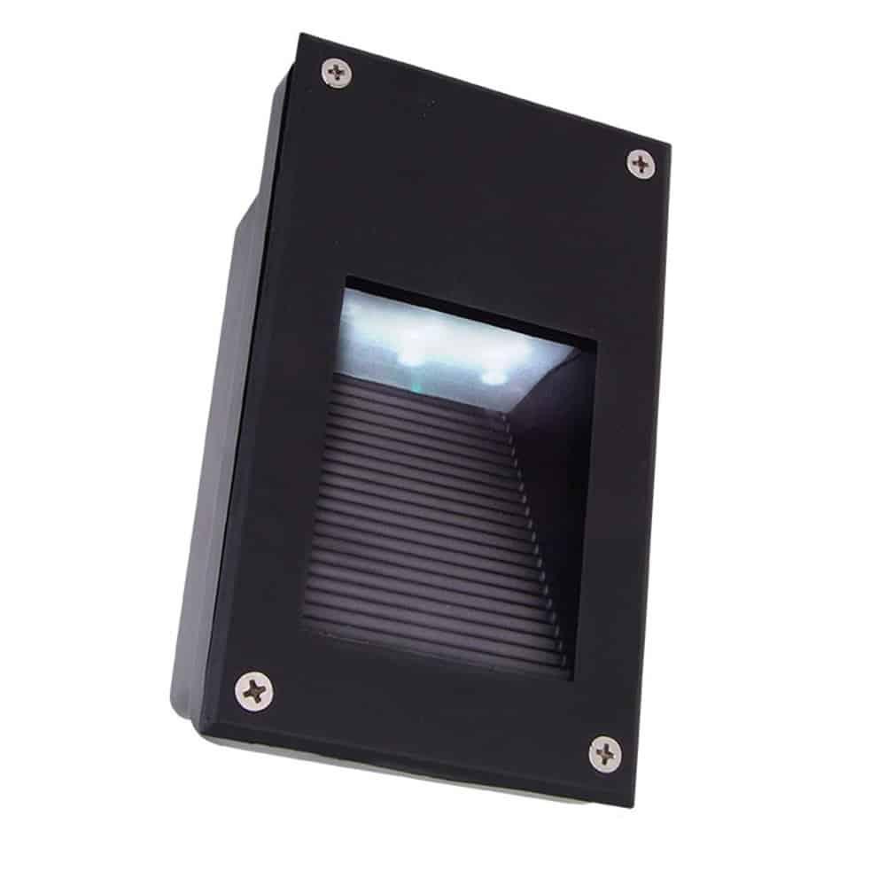 Oprawa fasadowa LED-15 1W lampa elewacyjna podtynkowa