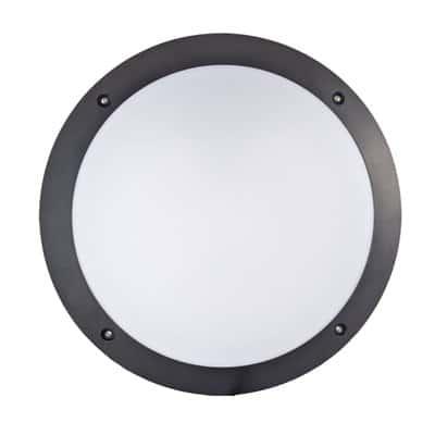 Oprawa ogrodowa KINKIET PLASTIC-600A czarna lampa zewnętrzna