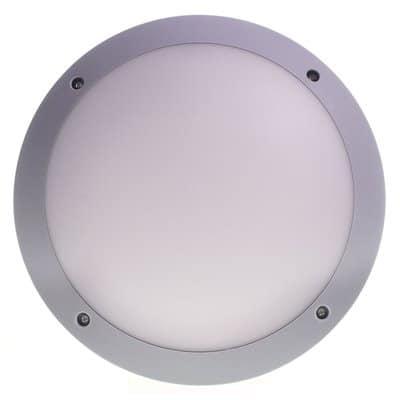 Oprawa ogrodowa KINKIET PLASTIC-600A szara lampa zewnętrzna