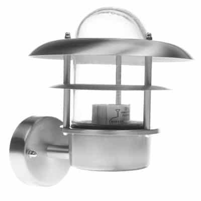 Kinkiet prosty ogrodowy KEJA-P lampa zewnętrzna elewacyjna