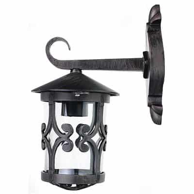 Kinkiet ogrodowy STYL-4312 lampa zewnętrzna metalowa