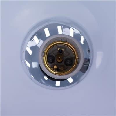Lampka biurkowa biała kreślarska 60W LK-01 lampa z uchwytem