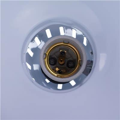 Lampka biurkowa srebrna kreślarska 60W LK-01 lampa z uchwytem