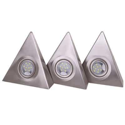 Oprawa kuchenna trójkątna zestaw 3 szt. meblowa podszafkowa LED OKT-3 LED 9 x 3