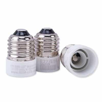 Adapter przejściówka żarówki E27-E14 adapter