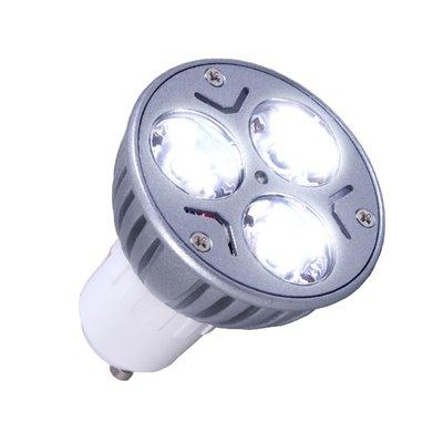 Żarówka halogenowa diodowa ciepła LED-HAL 3x1W GU10 CB