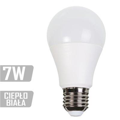 Żarówka LED-A60-7W-E27-WW (CB) 470lm 7W  40W ciepła