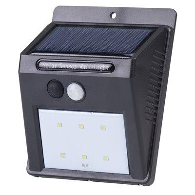 Lampa zewnętrzna ścienna SWL-1 solar-LED-sensor ruchu i zmierzchu