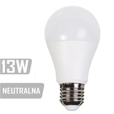Żarówka LED-A60-PL-13W-E27-NW 1050lm 13W  75W (NEUTRALNA)
