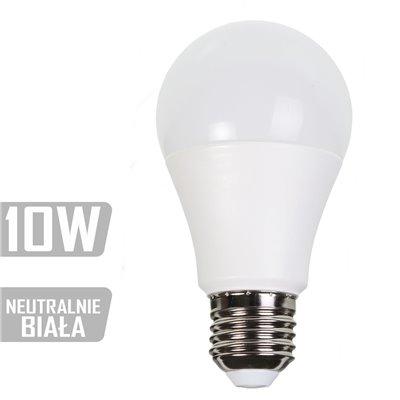 Żarówka LED-A60-10W-E27-NW (NEUTRALNA) 806lm 10W  60W E27