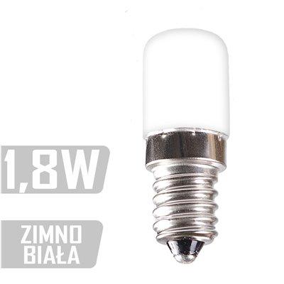 Żarówka tablicowa 1,8W zimna LED-CYL-6xSMD-E14 ZB
