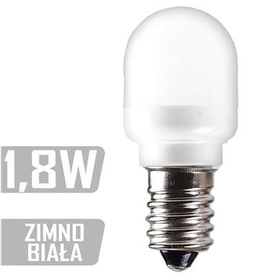 Żarówka tablicowa 1,8W zimna LED-CAP-6XSMD-E14 ZB