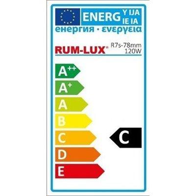 Żarówka Rx7s-78MM 120W Halogenowa liniowa żarnik