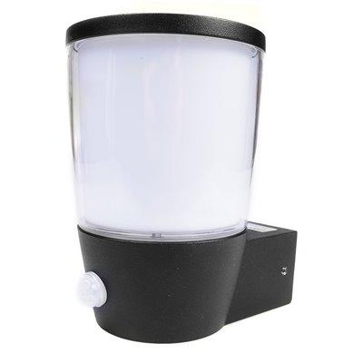 Kinkiet ogrodowy AURA SENSOR aluminiowa lampa zewnętrzna z czujnikiem ruchu i zmierzchu