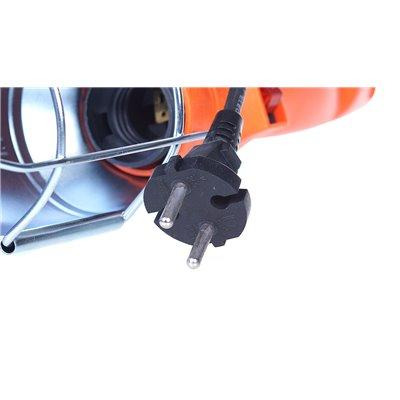 (AR)Oprawa przenośna 60W warsztatowa YJD-A-22BR guma + metalowy klips 5m