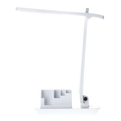 Lampka biurkowa szkolna 7W LED HD1523B + piórnik organizer USB