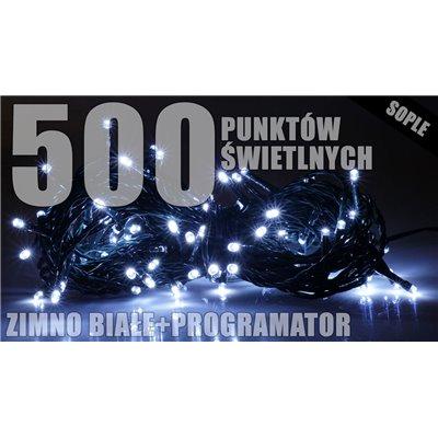 Lampki zew. sople LZS-ECO-LED-500