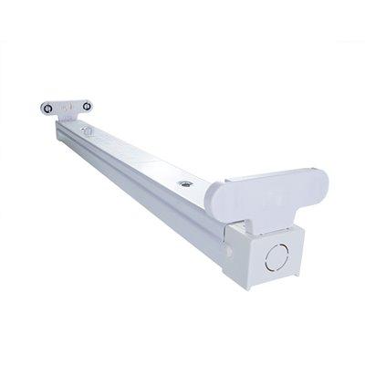 Oprawa B-218 do LED świetlówkowa belka na 2 świetlówki LED 18W 60 cm