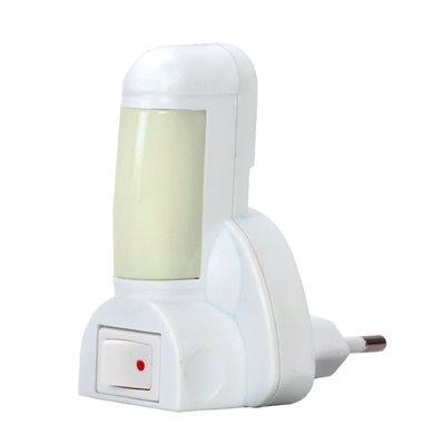 Lampka nocna pionowa LN-02 ŻÓŁTA