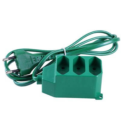 Przedłużacz PM/3-2-5M zielony (PS-362/5m)