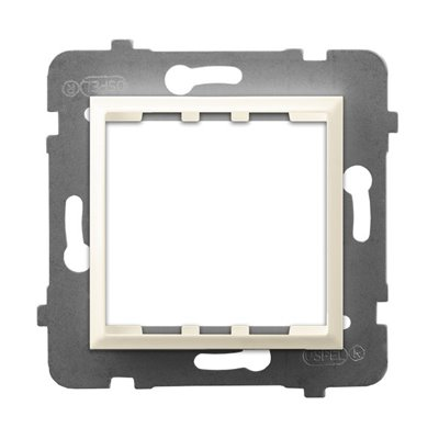 Adapter podtynkowy systemu OSPEL 45 do serii Aria ARIA ECRU