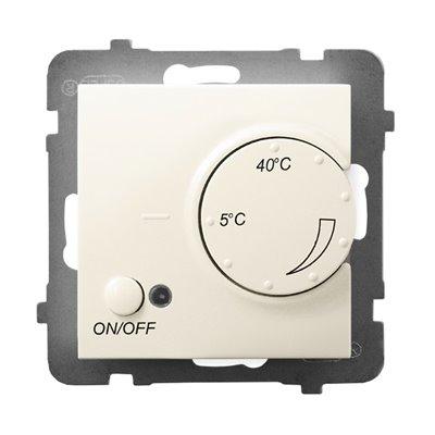 Regulator temperatury z czujnikiem podpodłogowym ARIA ECRU