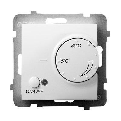 Regulator temperatury z czujnikiem napowietrznym ARIA BIAŁY