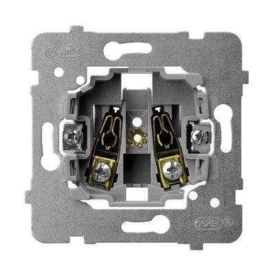 Mechanizm gniazda pojedynczego ARIA (elementy) BIAŁY