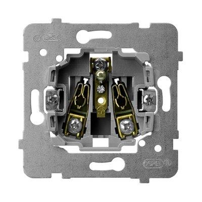 Mechanizm gniazda pojedynczego z uziemieniem ARIA (elementy) BIAŁY