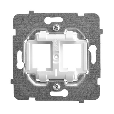 Mechanizm gniazd prostych typu Keystone ARIA (elementy) BIAŁY