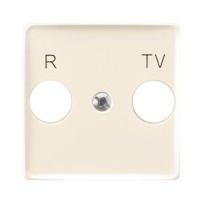 Pokrywa gniazda RTV końcowego ARIA (elementy) ECRU