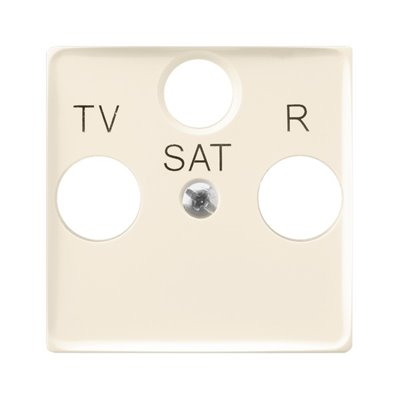Pokrywa gniazda RTV-SAT końcowego ARIA (elementy) ECRU
