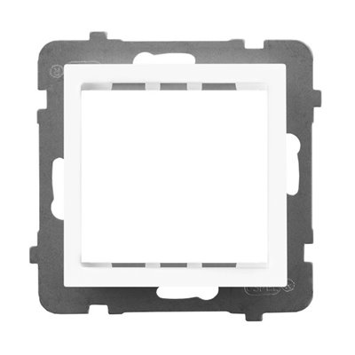 Adapter podtynkowy systemu OSPEL 45 do serii As AS BIAŁY