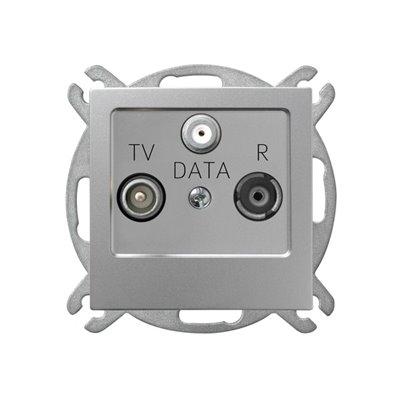 Gniazdo RTV-DATA AS SREBRO