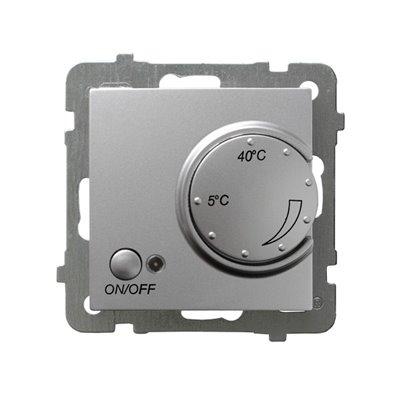 Regulator temperatury z czujnikiem podpodłogowym AS SREBRO