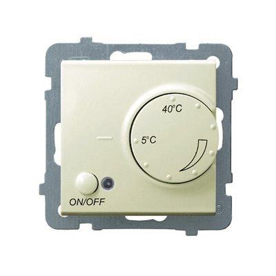 Regulator temperatury z czujnikiem podpodłogowym AS ECRU