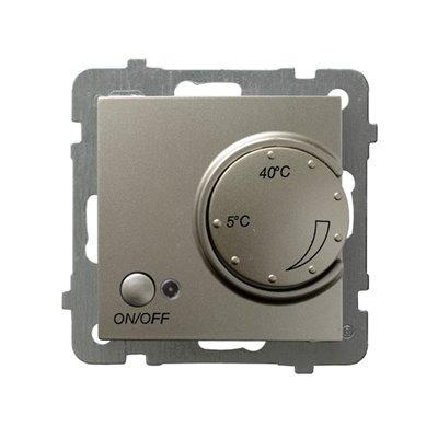 Regulator temperatury z czujnikiem podpodłogowym AS SATYNA LIGHT