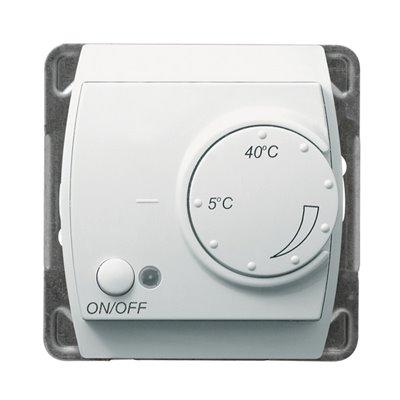 Regulator temperatury z czujnikiem podpodłogowym GAZELA BIAŁY