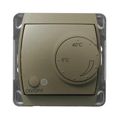 Regulator temperatury z czujnikiem podpodłogowym GAZELA SATYNA/SATYNA